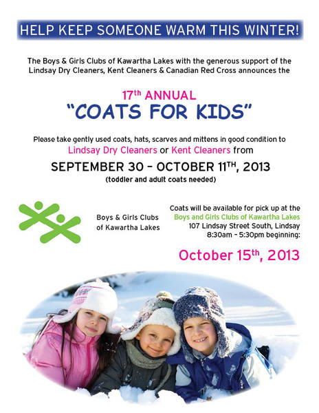 Coats For Kids 2013 Poster